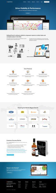 GoSpotCheck Churn Rate, Page Design, Design Ideas, Landing, Insight, Marketing, Top, Crop Shirt, Shirts