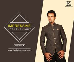 This linen fabric apple cut is in demand these days to get desired attire on special occasions. Made-up with ensemble pocket square, this apparel has button showcased neatly can be best option to give a unique of confidence within you. It is different styled wear customized for all your special occasions.  Available in stores & online: Bodylinestore.com  http://www.bodylinestore.com/products/Impressive-Jodhpuri-Suit-BL3061/pages/suits-blazer/suits-blazer-1  #Onlineshopping #MensFashion