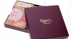 Caspari Bridge Set - Retail Box – Set Up Paper Box - Base & Lid - Stationery #packagingdesign #creativedesign #marketing #marketingdesign #taylorboxcompany