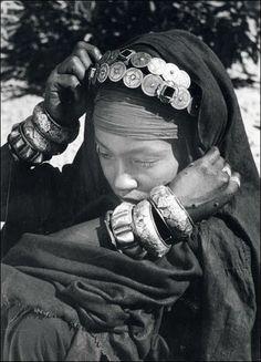 Africa | Maghreb Jewish Woman | Photographer Jean Besancenot ?