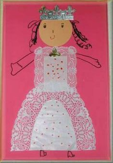 """""""Do Princesses Wear Hiking Boots"""" is a GREAT book to teach kids with Fairy Land, Fairy Tales, Castles Topic, Fairy Tale Crafts, Art For Kids, Crafts For Kids, Princess Crafts, Queen Birthday, Ecole Art"""