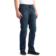 7093ad3a7b1b6 Men s Lee Premium Select Classic Active Comfort Straight Leg Jeans
