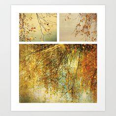 Autumn Art Print by Anne Staub