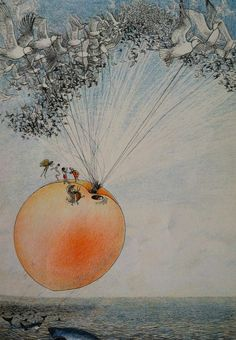 james and the giant peach symbolism