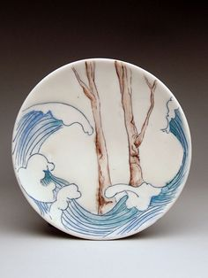 Sarah-Anne Marraffino Saucer at MudFire Gallery