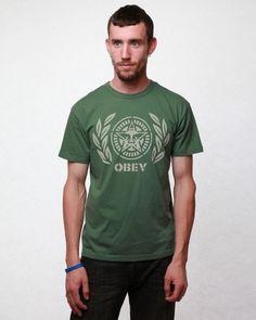 Obey Men's Ivy League Antique T-shirt Ivy League, Babe, Punk, Antique, Suits, Birthday, Mens Tops, T Shirt, Fashion