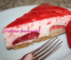 Receita Cheesecake de Morango por Kristyna - Categoria da receita Sobremesas
