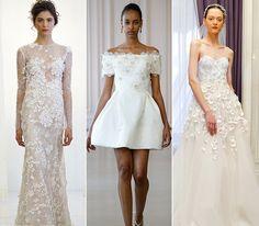 Brides: 5 Wedding Dress Trends from Spring 2016 Bridal Fashion Week