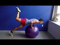 100 Push-Ups on the Ball - YouTube