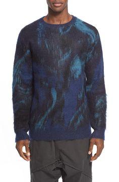 Yohji Yamamoto Marble Print Sweater