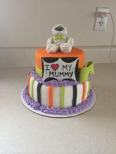 My halloween cake