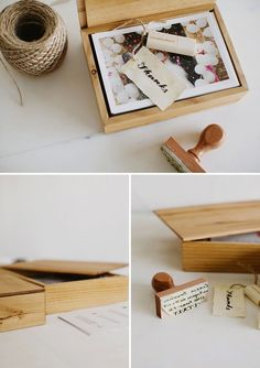 Wedding Photography Packaging | USB + Fine Art Prints + wood — CINZIA BRUSCHINI