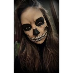 26 DIY Halloween Makeup Ideas for Women ❤ liked on Polyvore featuring beauty products and fragrance