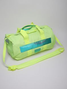 Marc By Marc Jacobs Men's Duffle Bag in fluorescent lime at oki-ni