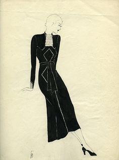 Vintage drawing-1920's