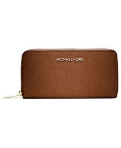 MICHAEL Michael Kors Handbag, Travel Zip Around Continental Wallet -  Handbags \u0026 Accessories - Macys