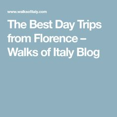 The Best Day Trips from Florence – Walks of Italy Blog Lucca, Siena, Walks, Good Day, Wine Country, Tuscany, Day Trips, Florence, Italy Travel