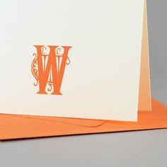 Sullivan Custom Personalized Stationery / by SilhouetteBlue, $25.00