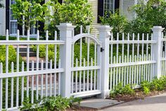The ultimate guide to fence designs and fencing material. Wrought iron gates, wood, security, iron, split rail, vinyl, pvc, dog, deer, electric fence ideas.