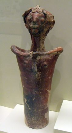 Cultic effigy vessel manufactured from pottery, Mycenae.
