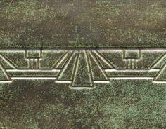 Potter's Choice glaze PC-48 Art Deco Green (Cone5/6)