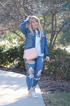 I love denim on denim! This jacket js perfect to pair with anything! And aa8e325f3a28