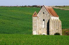 Templar building at Saint Martin des Champs, France.