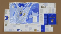 THE GUIDE – Folded Map of Mikulov, 2012 by Anymade Studio from Czech Republic