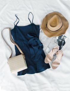 Isabella Dress - Navy #lovepriceless