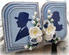 Mitt Lille Papirverksted: kaBoks FEIRER med en BLOGGHOPP !!!! Frame, Projects, Wedding, Design, Home Decor, Picture Frame, Log Projects, Valentines Day Weddings, Blue Prints