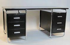 Original BIGLA Bauhaus Desk, Switzerland 1930s 3