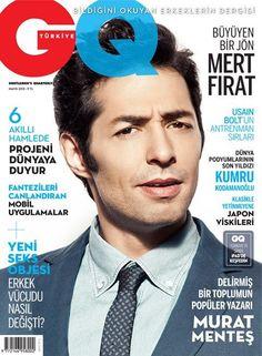 Mert Firat - GQ Magazine Cover [Turkey] (May 2013)