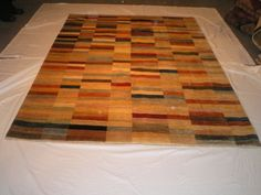 Mixed Colours Modern Gabbeh Rug The picture  here doesn't do it justice.