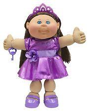 (Glitz) - Cabbage Patch Kids Kids - Brunette Hair/Blue Eye Girl Doll in Brown Hair Blue Eyes Girl, Blue Hair, Cabbage Patch Kids Dolls, Brunette Girl, Retro Toys, Toys For Boys, Kids Wear, Girl Dolls, Kids Girls