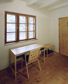 Anna Wickenhauser Architektur  Haus M Brand/A Privathaus Umbau Wicken, Anna, Office Desk, Corner Desk, Furniture, Home Decor, Architecture, House, Corner Table