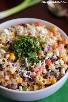 Eat Cake For Dinner: Mexican Pasta Salad