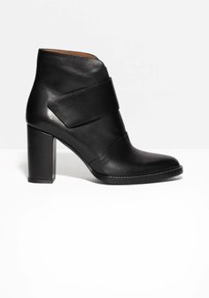 & Other Stories | Velcro Strap Ankle Boots