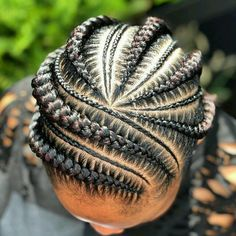 Trending Braided Hairstyles for Black Women 2019 # Braids afro curto Braided Cornrow Hairstyles, Feed In Braids Hairstyles, Black Girl Braided Hairstyles, Black Girl Braids, Braids For Black Hair, Girls Braids, Black Women Hairstyles, Braids Cornrows, School Hairstyles