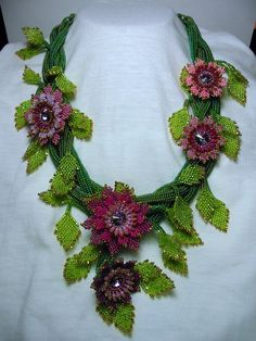 Murphy's Beads: A Rainbow of Beaded Creations by Sabina Anderson featured EyeCandy in Bead-Patterns.com Newsletter!