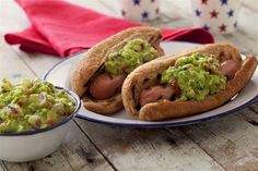 Yummy California Guacamole Dog - delicious recipe