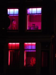 Red Light District, #amsterdam, #prostitutes, photo by Vladimir Viconart