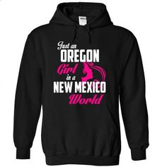 OREGON-NEW MEXICO girl 05Pink - #cool tee #hoodie casual. ORDER HERE => https://www.sunfrog.com/States/OREGON-2DNEW-MEXICO-girl-05Pink-Black-Hoodie.html?68278