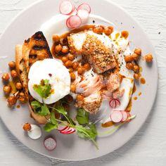 Taste Mag | Turkish-style eggs and salmon @ https://taste.co.za/recipes/turkish-style-eggs-and-salmon/