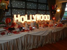 Hollywood Birthday Party Ideas Photo 5 Of 16 Catch My