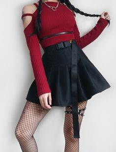 24a0689fa 68 Best Red and Black Outfits images | Moda femenina, Spring summer ...