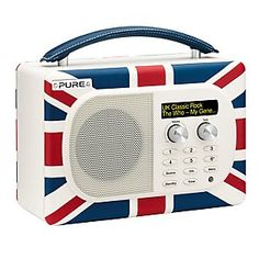 Pure Evoke Mio DAB Radio, Union Jack