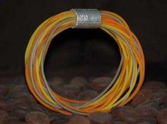 Photo tutorial for this faux cording bracelet
