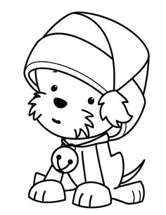 Puppy Coloring Pages To Print Free Printable