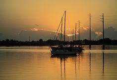 Serene Sunrise Reflection by Jenn Hicks