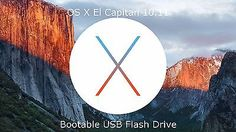 APPLE MAC OS X 10.11.5 El Capitan - Install & Recovery Bootable USB Flash Drive